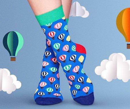 Happy Socks Sale z.B. Einzelpaar ab 4,50€ oder Geschenkset ab 14,90€