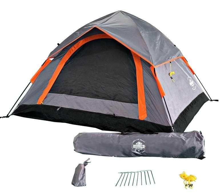 Lumaland Schnellaufbau Zelt für 3 Personen zu 56,90€ inkl. Versand (statt 65€)