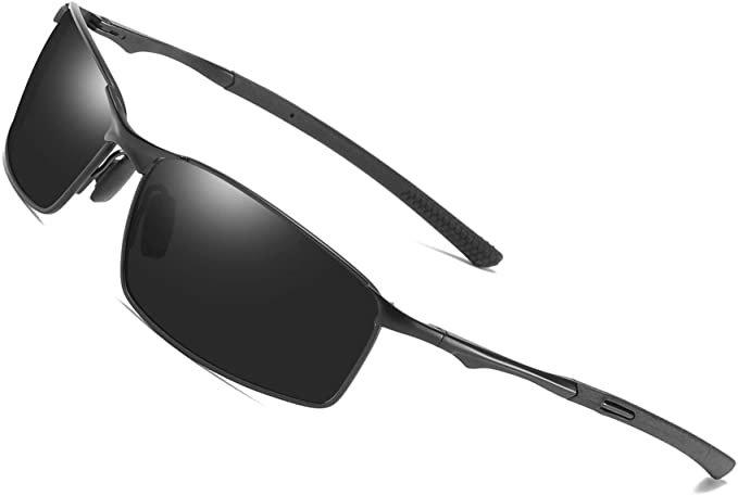 Aoron Polarisierte Herren Sonnenbrille mit UV Schutz für 8,49€ inkl. Prime Versand (statt 16€)