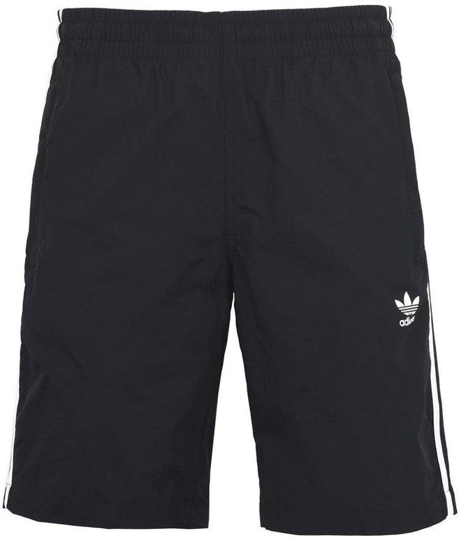 Adidas Originals 3-Stripes Badeshorts in Schwarz für 18,74€