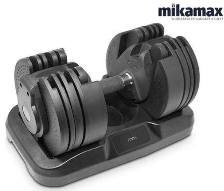 MikaMax verstellbare Kurzhantel (20 kg) für 88,90€ inkl. Versand (statt 154€)