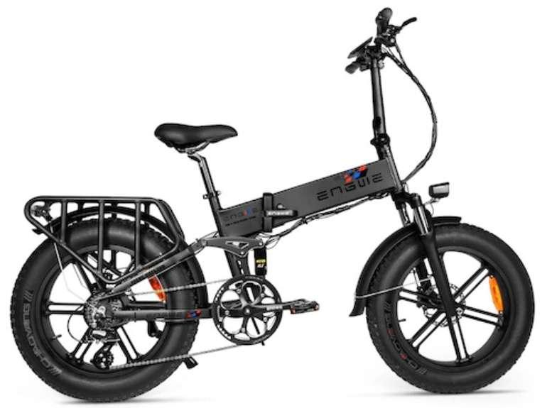 Engwe Engine - Faltbares Fat-Tire E-Bike mit 500 Watt und LG 12.8Ah Akku für 1.465,07€ inkl. Versand