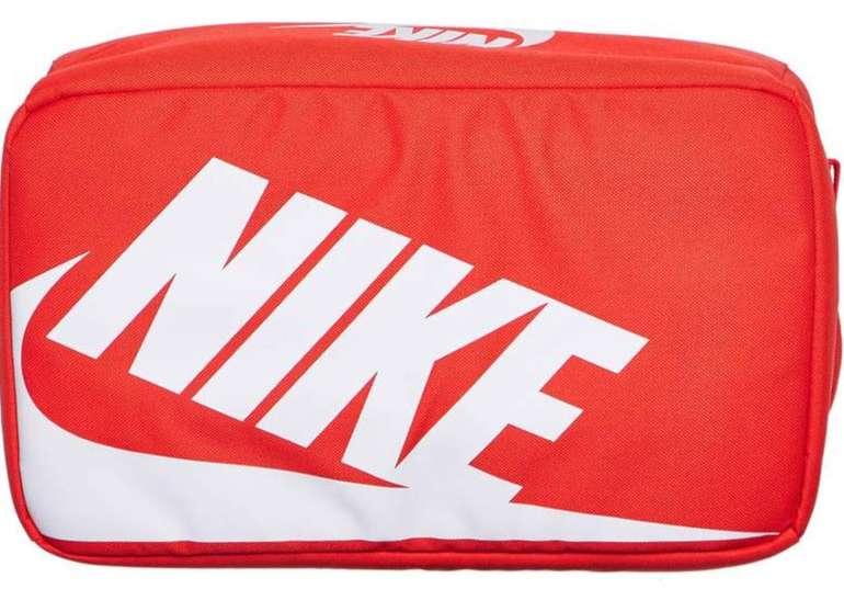 Nike Textil Shoebox Tasche (orange, ca. 33 x 12 x 20 cm) für 18,59€ inkl. Versand (statt 22€)