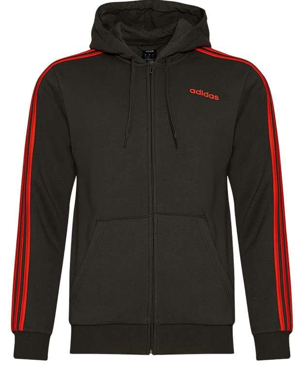 adidas Essentials 3 Stripes Herren Kapuzen Sweatjacke für 33,94€inkl. Versand (statt 39€)