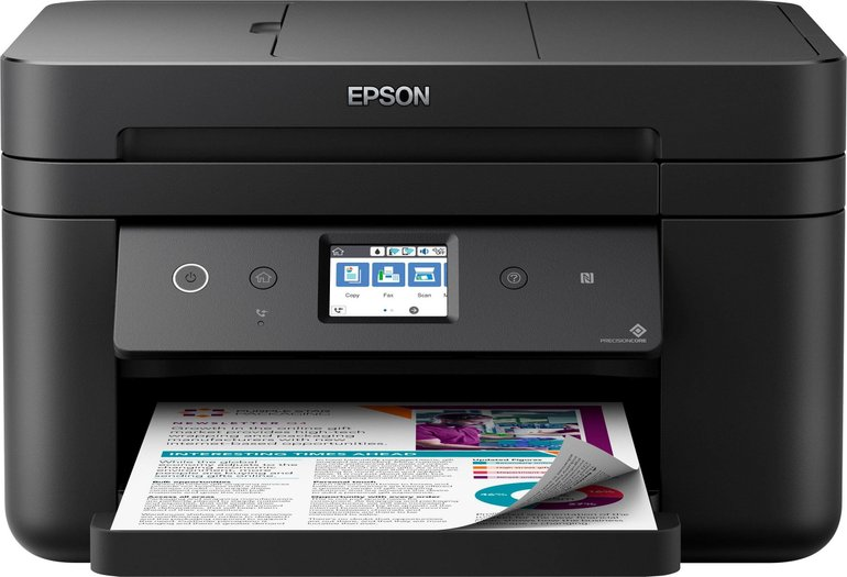 Epson WorkForce WF-2860DWF Multifunktionsdrucker + Patrone für 69€ inkl. VSK
