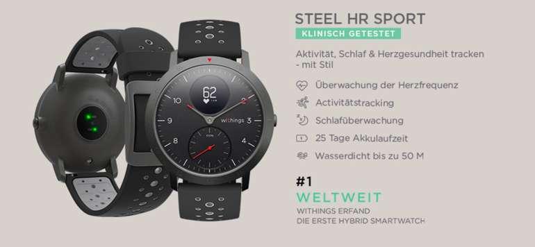 Withings Steel HR Sport Aktivitätstracker