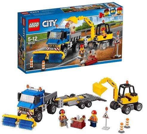 LEGO City - Straßenreiniger und Bagger (60152) für 27,98€ inkl. VSK (statt 44€)