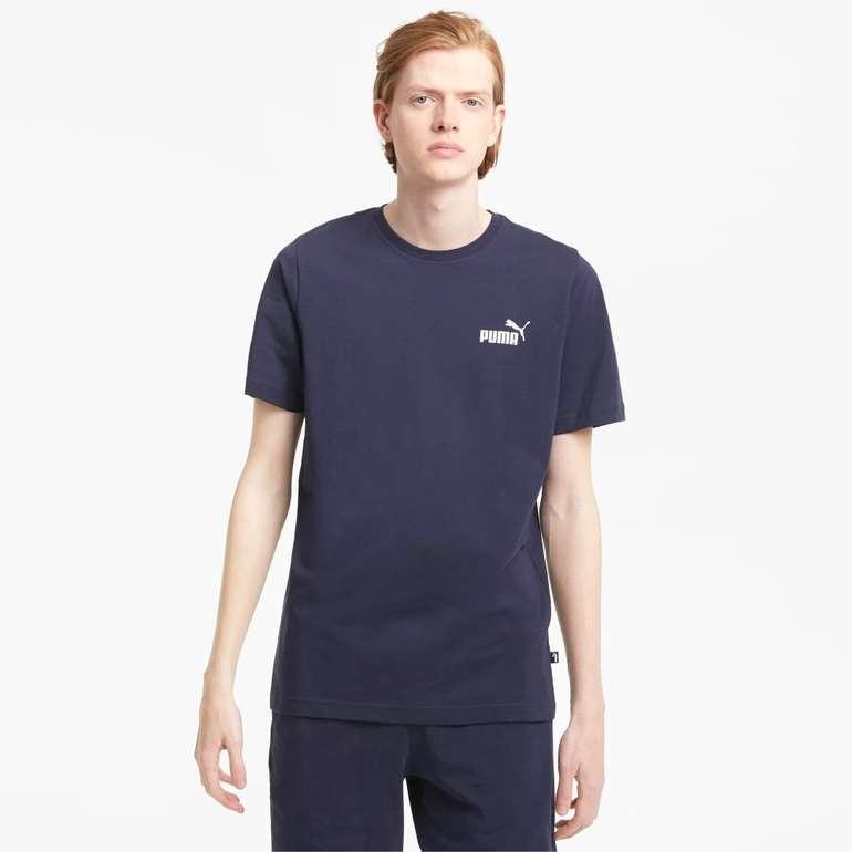 Puma Essentials Herren T-Shirt mit dezentem Logoprint in 4 Farben für je 11,16€ (statt 15€)