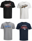 "Jack & Jones Herren 8er Pack T-Shirts ""JJELOGO TEE SS"" für 54,89€ inkl. Versand"