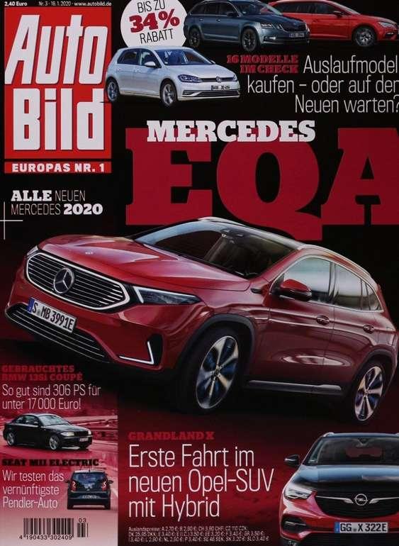 Halbjahresabo Auto Bild (26 Ausgaben) für 70,20€ + 70€ BestChoice-Gutschein