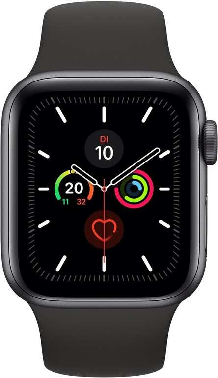 Apple Watch Series 5 GPS + LTE 40mm mit Edelstahl Sportarmband für 469,95€ inkl. Versand (statt 504€)