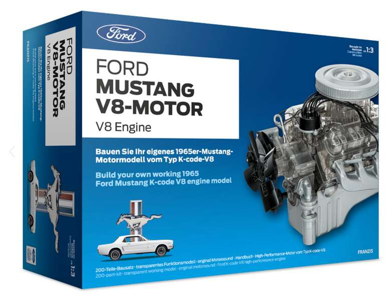 Ford Mustang V8-Motor Bausatz für 110€ inkl. Versand (statt 125€)
