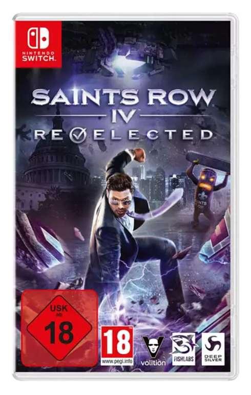 Saints Row IV: Re-Elected (Nintendo Switch) für 19,48€ inkl. Versand (statt 23€) - Abholung: 14,49€
