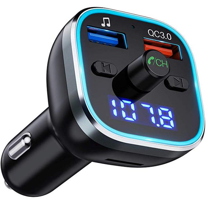 Omorc KFZ FM Transmitter (Bluetooth V5.0) für 12,49€ inkl. Prime (statt 16€)