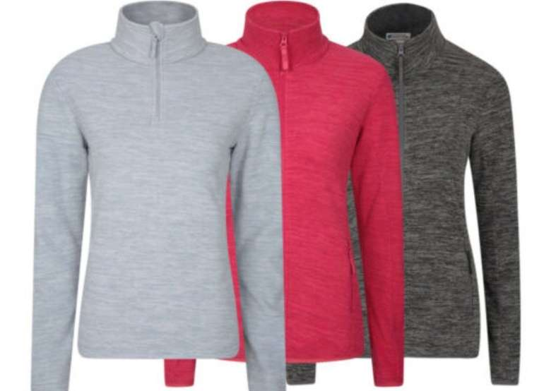 Mountain Warehouse Snowdon Mikrofleece Damen-Pullover für je 17,59€ (statt 20€)