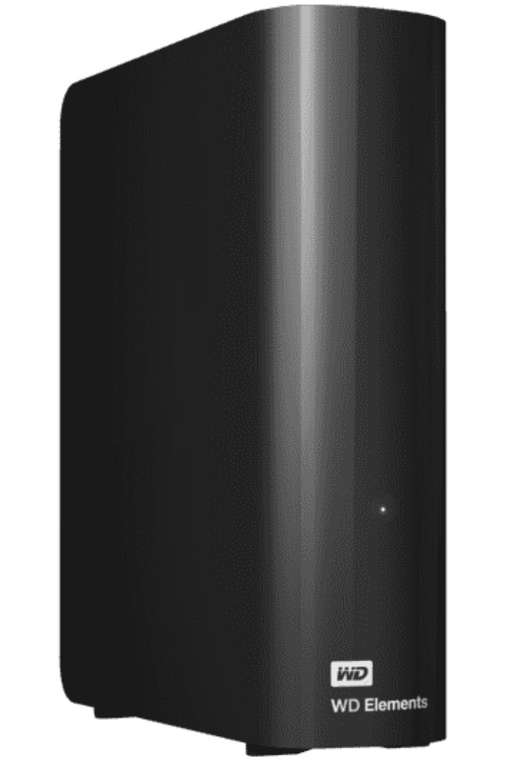 WD Elements Desktop-Speicher 12TB (externe Festplatte, USB 3.0-kompatibel) für 179,99€ inkl. Versand