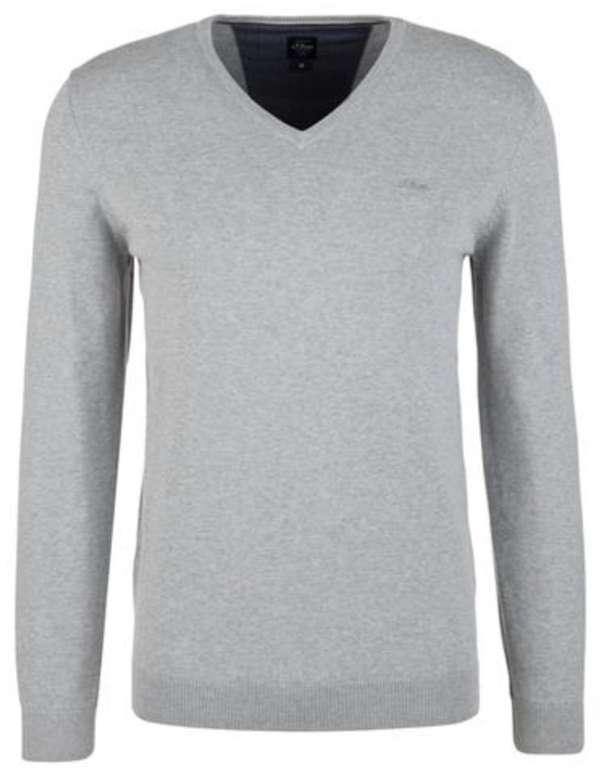 3er Pack s.Oliver Herren Feinstrick-Pullover für 40,50€ inkl. Versand (statt 54€)