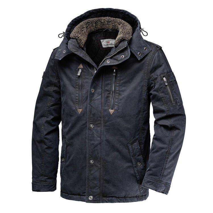 Glattsand Baumwoll-Jacke im Used-Look für 86,25€ inkl. Versand (statt 133€)