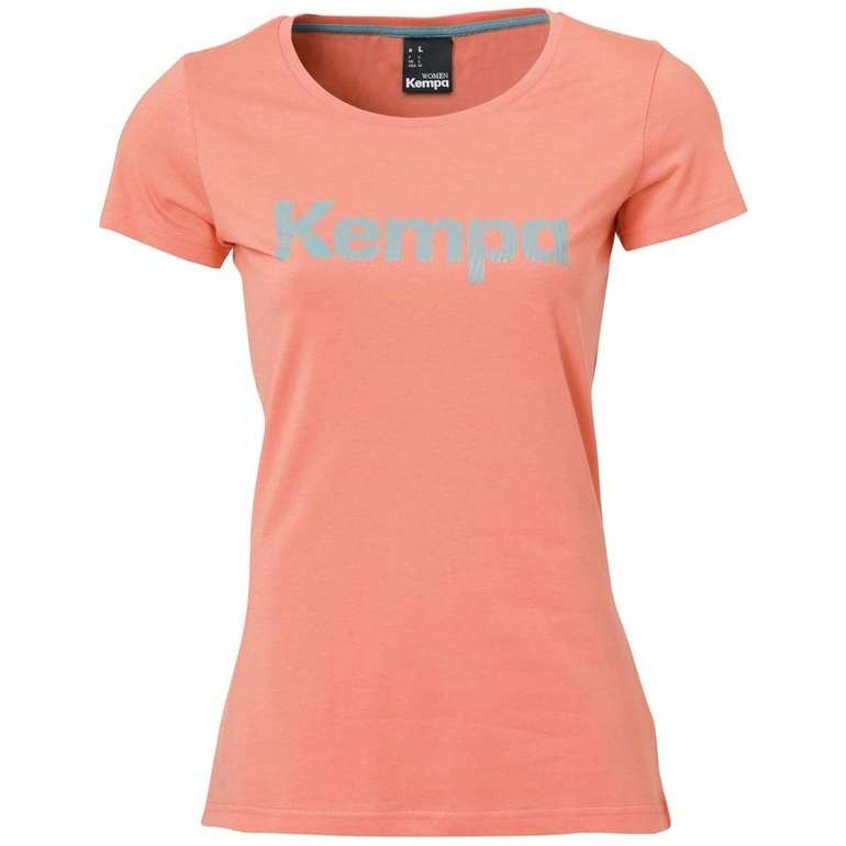 Kempa Graphic Damen T-Shirt für 9,94€ inkl. Versand (statt 14€)