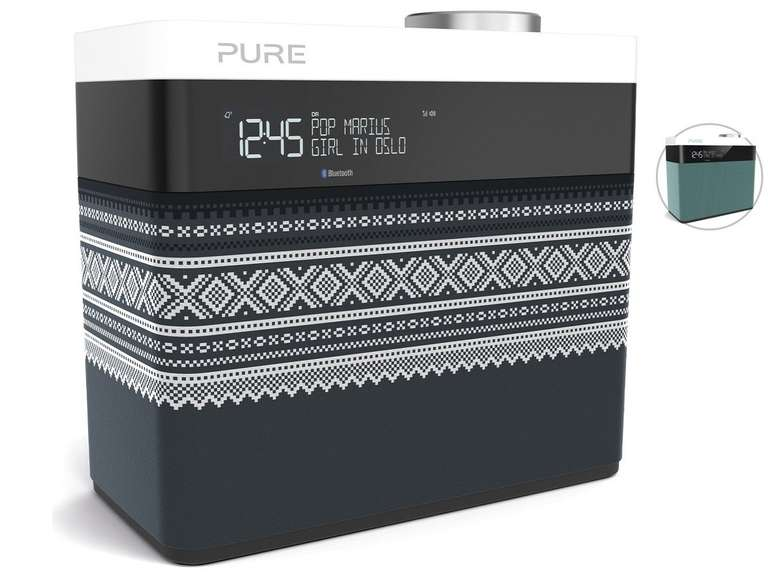 Pure Pop Maxi DAB+ Bluetooth-Radio (FM-Radio, AUX, Wecker, Timer) für 55,90€ inkl. Versand (statt 75€)