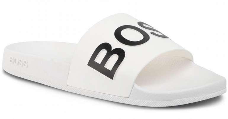 Boss Bay Pantoletten in Weiß für 35€inkl. Versand (statt 44€)
