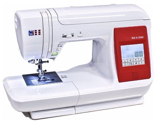 W6 N 5000 computergesteuerte Nähmaschine für 389,99€ inkl. Versand (statt 430€)