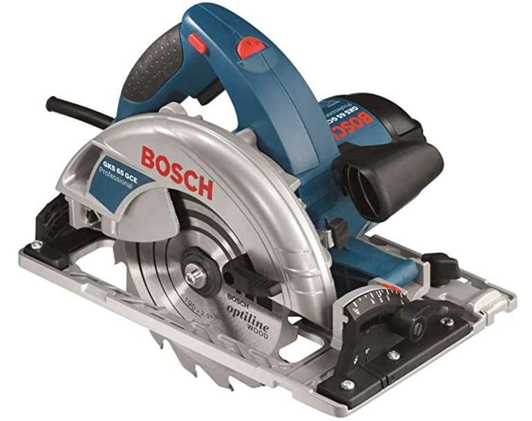 Bosch GKS 65 GCE Handkreissäge + L-Boxx für 215€ inkl. Versand (statt 273€)
