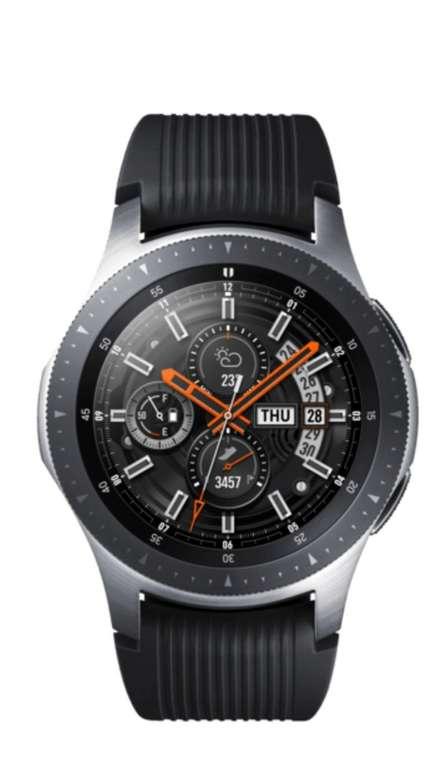 Samsung Galaxy Watch 46 mm LTE Smartwatch in silber für 224,10€ inkl. Versand (refurbished!)