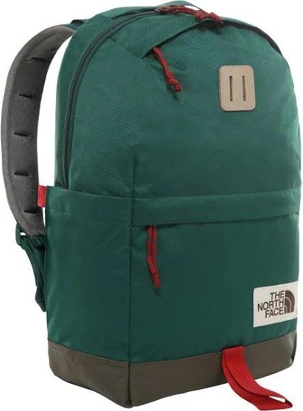 The North Face Rucksack 'Daypack' in brokat / dunkelgrün für 26,95€ inkl. Versand (statt 49€)