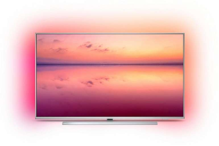 Philips50PUS6804/12 - 50 Zoll 4K UHD Smart-TV mit 3-seitigem Ambilight für 359€ (statt 499€) - Retourengeräte!
