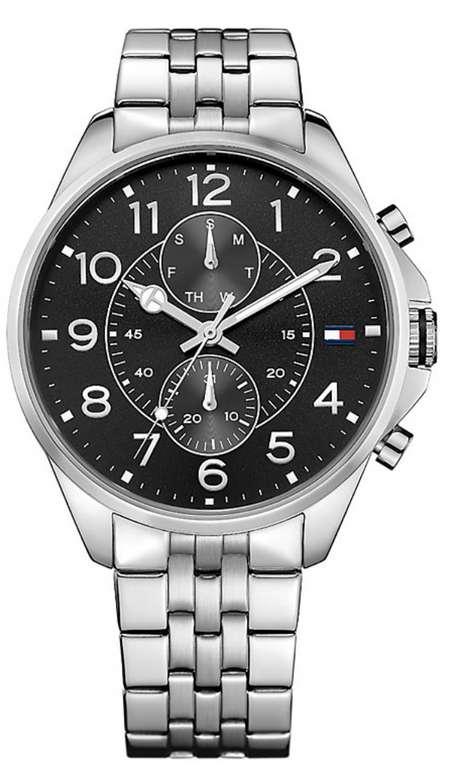 Tommy Hilfiger Chronograph Herren Uhr (1791276) aus Edelstahl für 95,20€inkl. Versand (statt 119€)