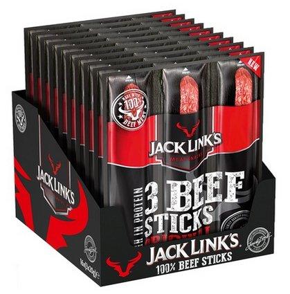 48x Jack Link´s Beef Stick Original (je 20g) für 19,99€ (statt 40€) - MHD!