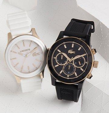 Lacoste Uhren Sale bis zu 75% Rabatt - z.B. New Borneo Chronograph 65€