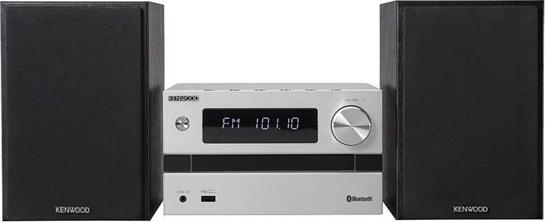 Kenwood M-718BT Micro HiFi-System (50W, CD/Radio/USB, Bluetooth) für 88€ inkl. Versand (statt 111€)