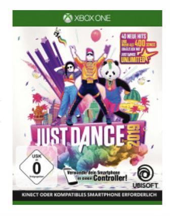 Just Dance 2019 (XBOX-One) für 18,95€ inkl. Versand (statt 23,85€)