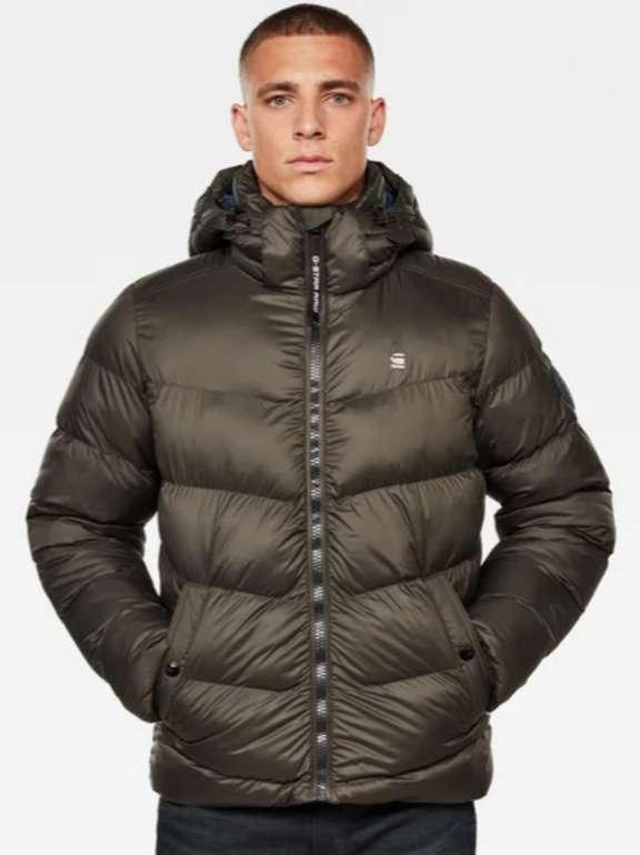G-Star Raw Sale mit bis 50% Rabatt - z.B. Whistler Hooded Puffer Jacke für 99,97€ (statt 135€)