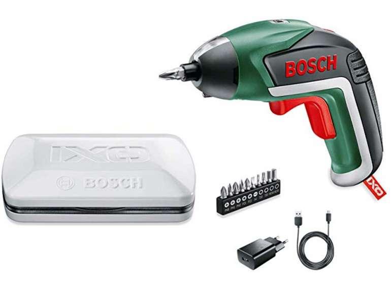 Bosch IXO V Akkuschrauber inkl. Gras- und Strauchscherenaufsatz für 28,32€ inkl. Versand (Prime)