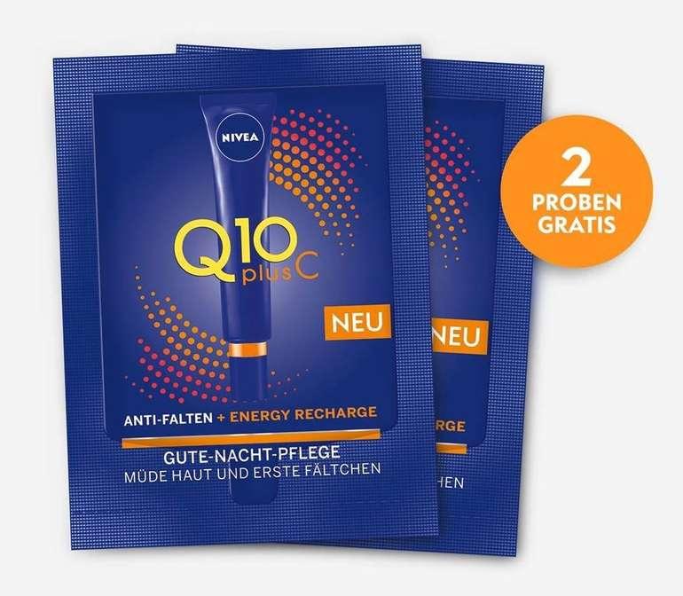 Kostenlose Probe der NIVEA Q10plusC Energy Gute-Nacht-Pflege