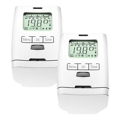 2er Pack Olympia HT 2000 - Elektronische Heizkörperthermostate für 25,99€