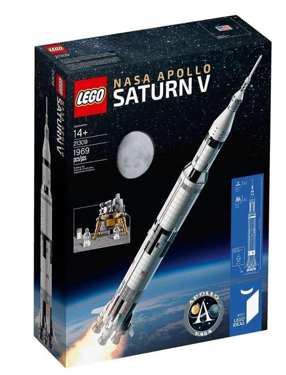 Lego 21309 NASA Apollo Saturn V für 99,99€ inkl. Versand mit Galeria Kundenkarte