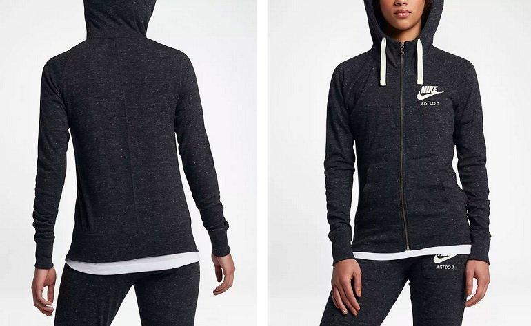 Nike Sportswear Gym Vintage Damen-Hoodie 3