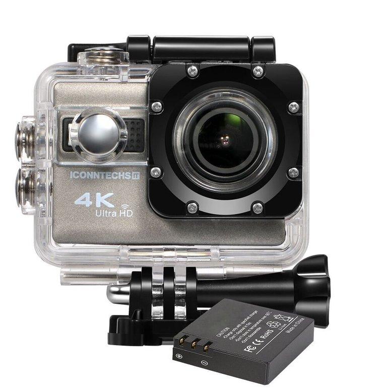 Iconntechs IT 4K Ultra HD Sport-Actionkamera (+ Zubehör) für 39,77€ (statt 78€)