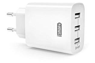 RAVPower 3-Port 30W 6A USB Ladegerät mit iSmart Technologie für 9,29€ (Prime)