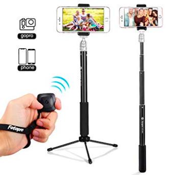 Fotopro Bluetooth Selfie Stick Stativ mit Auslöser für 10,97€ inkl. Prime