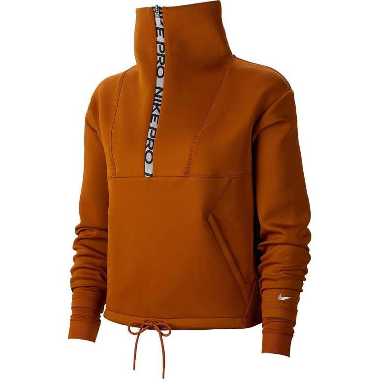 Nike Damen Sweatshirt in 'burnt sienna-metallic silver' für 45,56€ inkl. Versand (statt 63€)