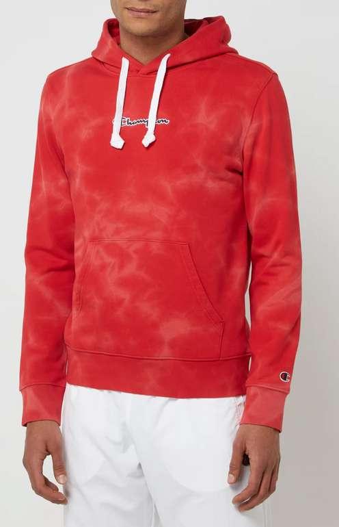 Champion Comfort Fit Hoodie aus Baumwolle in Rot für 25,49€inkl. Versand (statt 53€)