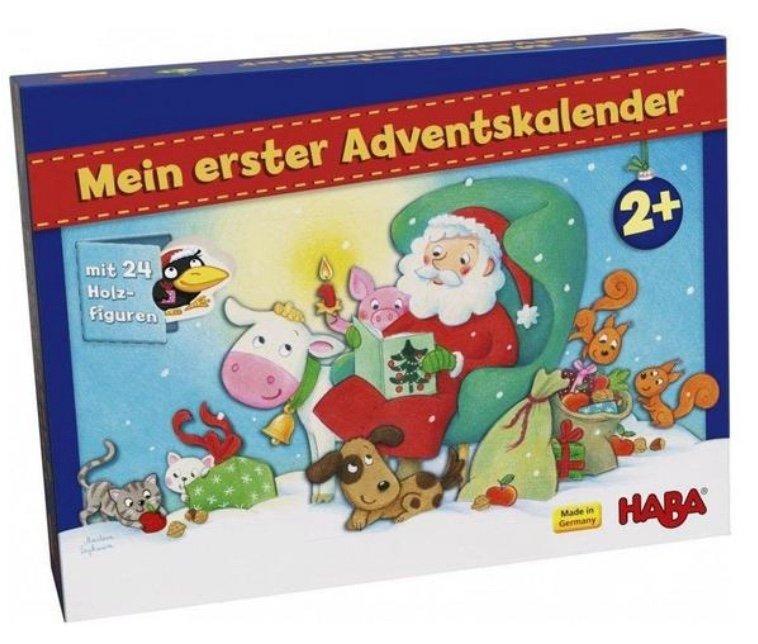 Mein erster Adventskalender: Weihnachten auf dem Bauernhof mit 24 Holzfiguren für 13,93€ (statt 25€) - Thalia Club!