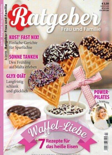 Ratgeber Frau und Familie Magazin im Jahresabo für 46,80€ + 40€ Amazon-Gutschein