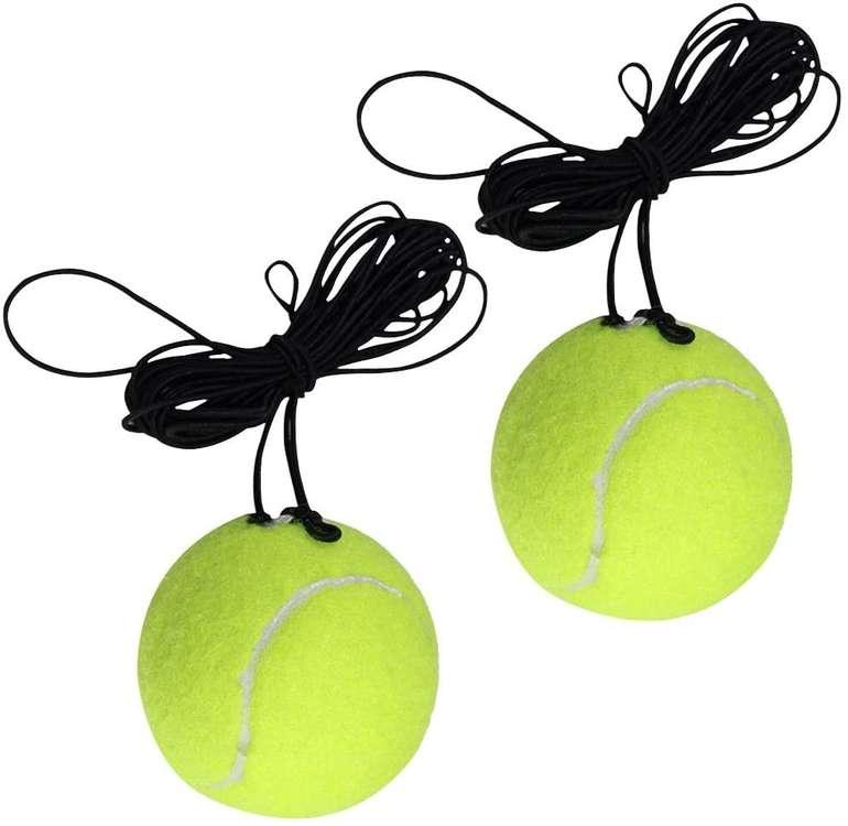 Aniwon 2er Set Tennisbälle mit Schnur für 2€ inkl. Prime Versand (statt 7€)