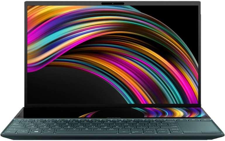 Asus Zenbook Duo UX481 14 Zoll IPS Notebook mit i5, 512GB SSD, 8GB & GeForce MX250 für 929,90€ (statt 1.099€)